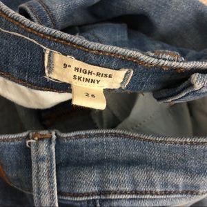 "Madewell Jeans - Madewell | 9"" High Rise Jean Seamed Step Hem"
